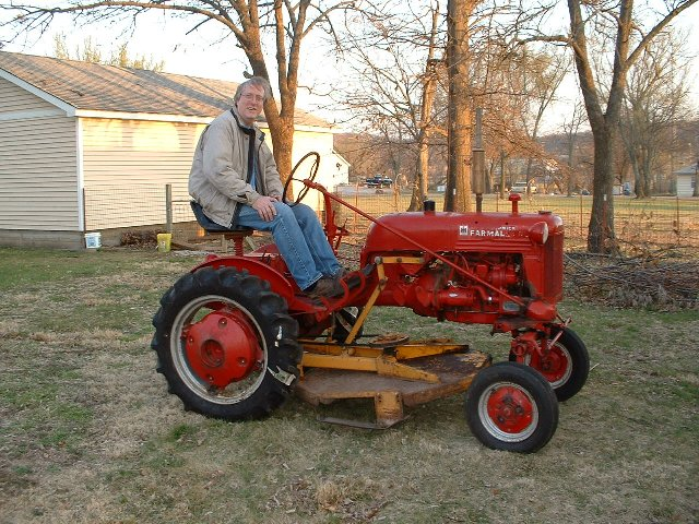 International Harvester Cub Tractor : My tractor page